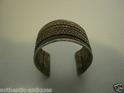 ANTIQUE 19th CENTURY TURKEY OTTOMAN EMPIRE WOMEN'S FOLK FILIGREE BRACELET #6