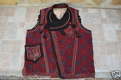 Gorgeous Antique 19th C. Folk Vest Folklore COSTUME Macedonian Greece OTTOMAN