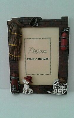 Firefighter Theme Standing Picture Frame