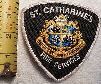 St. Catharines Fire Services Patch (Sheriff, State Police, Ems, Fire)