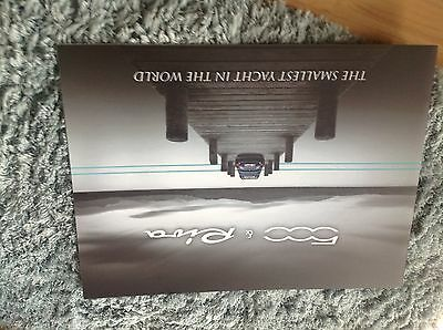 FIAT 500 RIVA BROCHURE 2016.      Ltd edition 500