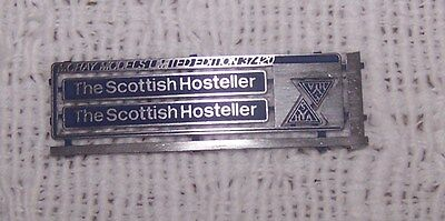 00 Bachmann Hornby Lima etched nameplates class 37420 The Scottish Hosteller