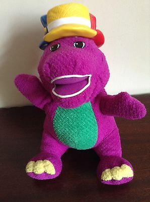 Rare Silly hats barney fisher price musical/talking toy. 2001 Vintage