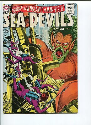 Sea Devils #24   9.0  Vf/nm  1 Owner!  Nice Pages!  Awesome Cover!