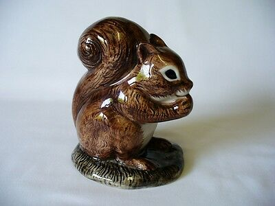 A Superb   Squirrel Figurine - by Quail Pottery