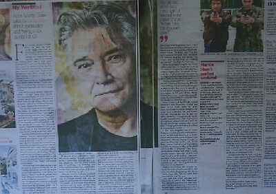 The Professionals Doyle George Gently Martin Shaw 2013 The Times Interview