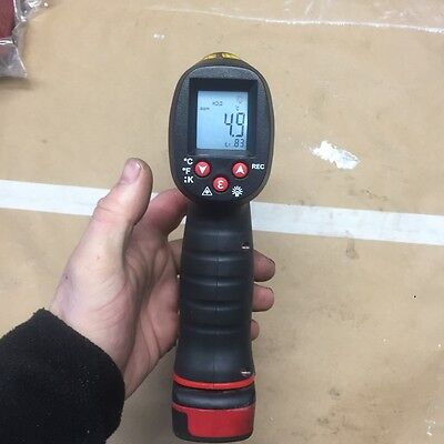 Snap On temperature infrared thermometer