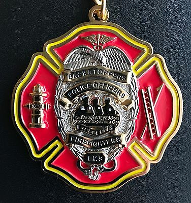 St. Louis Backstoppers Keychain - Police - Firefighters - EMS