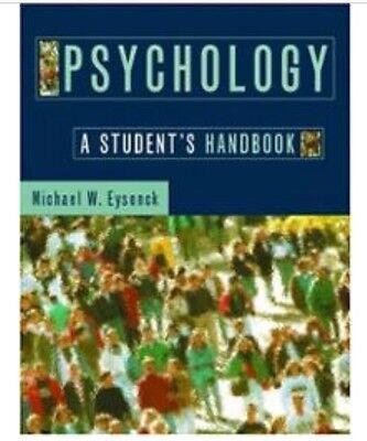 Psychology: a student's handbook (textbook)