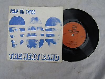 THE NEXT BAND FOUR BY THREE EP gannet 159 nwobhm ............33rpm