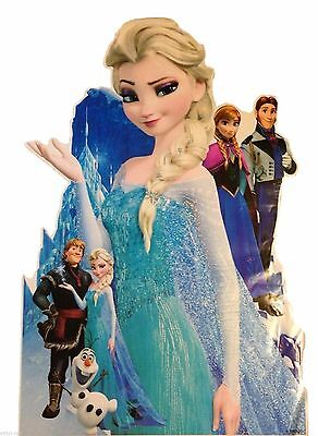 extra large princess elsa anna frozen wall sticker decal kids bedroom mural gift