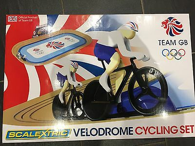 Team GB Scalextric Cycling Velodrome