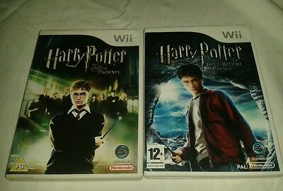 Harry potter and the order of the phoenix amd harry potter and the half blood pr