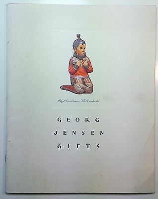 1939 Georg Jensen Gifts Catalog Silver Art Deco Mid Century Modern jewelry