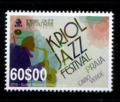 CAPE VERDE Creole Jazz Festival in Praia MNH stamp