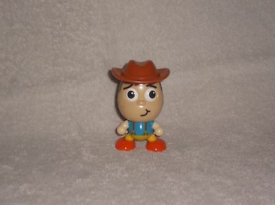 """Plastic Woody Character 3"""" in Height"""