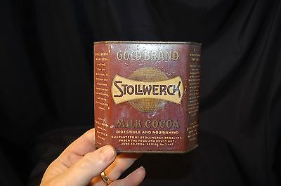 vintage Stollwerck milk cocoa tinno reserve must see!!