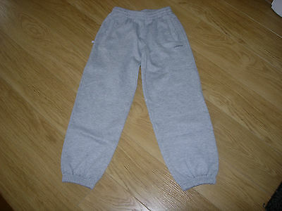 Girls Grey Joggers Age 9-10 Years