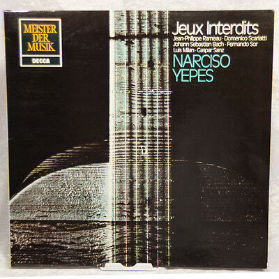 Narciso Yepes ‎– Jeux Interdits LP DECCA SMD 1349 TELDEC 6.41654.AN 1956 M-/VG+