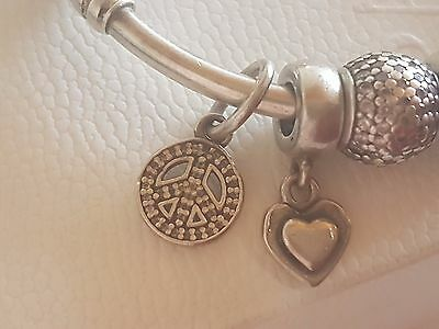 D-STOCK Pandora Charms & Bangle Sterling Silver