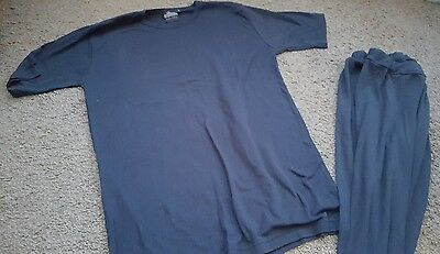 mens size M-L thermal top and trousers