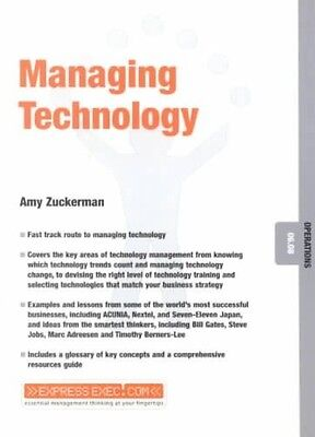 Managing Technology by Amy Zuckerman Paperback Book (English)