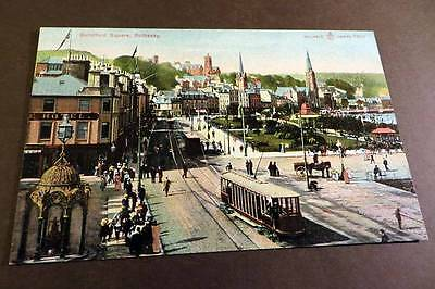 ROTHESAY c1905 Guildford Square & Tram
