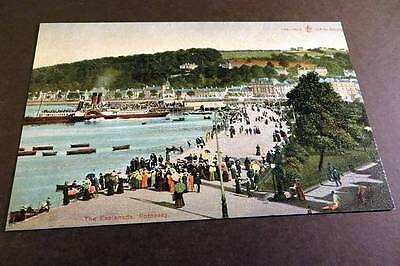 ROTHESAY c1905 The Esplanade & Paddle Steamer