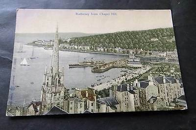 ROTHESAY c1905 View from Chapel Hill