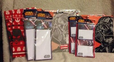 Darth Vader Gift Set Star Wars Office Stationary Teacher Fathers Day Gift