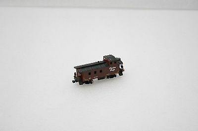 Bachmann N Scale Canadian Pacific Caboose (Needs Detail Work)