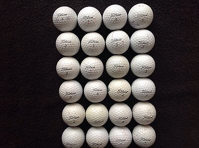 40..mixed titleist pro v1  golfballs . IN practice grade