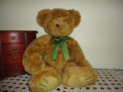 Harrods Large Heavy 20 inch Teddy Bear