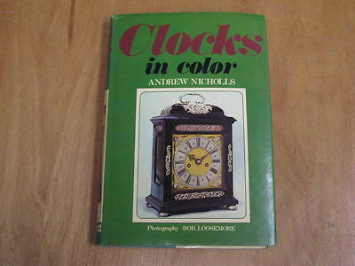 Clocks in Color Book by Andrew Nicholls