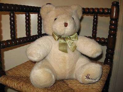 Harrods UK Cream Plush Bear