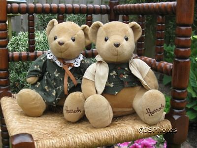 Harrods Boy & Girl Bear Couple