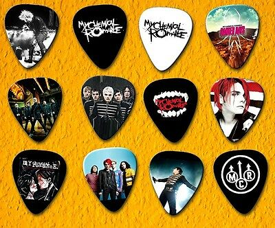 MY CHEMICAL ROMANCE  Guitar Picks *Set of 12*