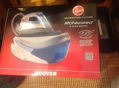 Hoover Iron Steam Station Brand New In Box