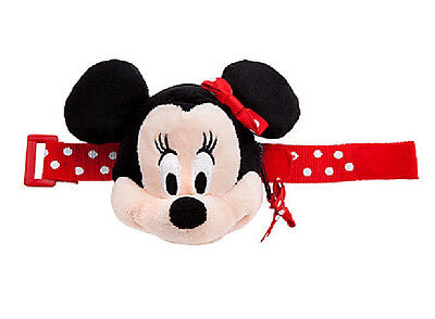 Disney Store Plush Girls MINNIE MOUSE Stocking Stuffer Bracelet Wrist Purse