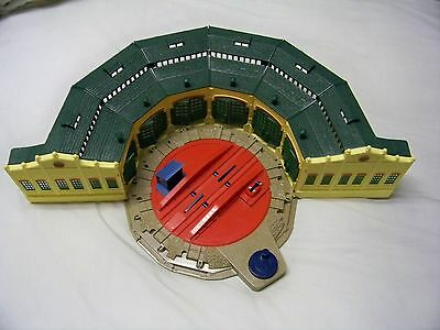 Thomas & Friends Trackmaster Tidmouth Sheds Roundhouse Turntable Playset 6 Doors