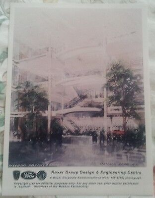 Mg Rover Group Design & Engineering Centre Gaydon Glossy Official Press Photo