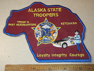 Alaska State Police Troop A  Post Headquarters Ketchikan   Patch