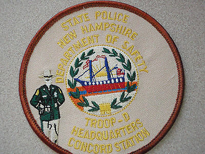 New Hampshire State Police Troop D Concord      Station