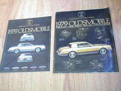 TWO: Oldsmobile 1979 Dealer Catalogs (comes with bill of sales for 1979 Cutlass)