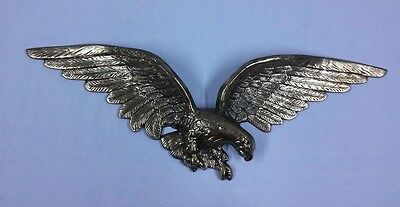 """29"""" Brass Color Federal Style Vintage Cast Metal Eagle Wall Hanging 7032"""