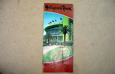 July 19, 1955 Hollywood Park Official Program~Turf Club Charity~Now Closed