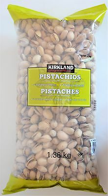 Kirkland Signature Pistachios Roasted Salted Naturally Opened 1.36kg/3 lb