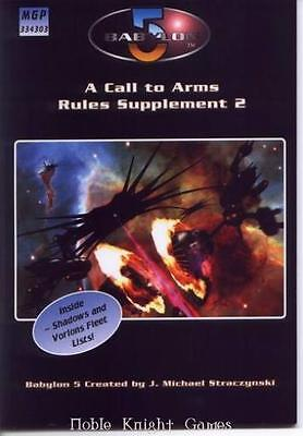 Mongoose Babylon 5 Call to Arms Rules Supplement #2 SC NM