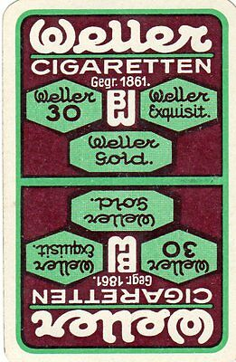 "RARE VINTAGE ""Wellen Cigarettes"" SINGLE Playing Card"