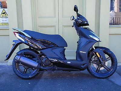 Kymco Agility 50 City+ 2 Stroke Scooter With 2 Year Parts & Labour Warranty.